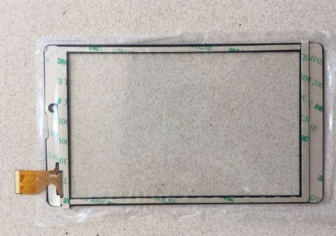 Black 7 Inch touch screen glass digitizer panel for <font><b>iRbis</b></font> TZ730 TZ731 TZ732 TZ733 TZ734 TZ735 TZ736 TZ738 <font><b>TZ745</b></font> image