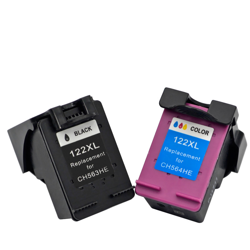 Ink Cartridges For 122 XL HP122 <font><b>HP122XL</b></font> 122XL Envy 114 120 Offcejit 4630 4634 4620 2630 Inkjet Printer image