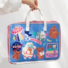 Мультяшная сумка для компьютера милый медвежонок чехол 11 12