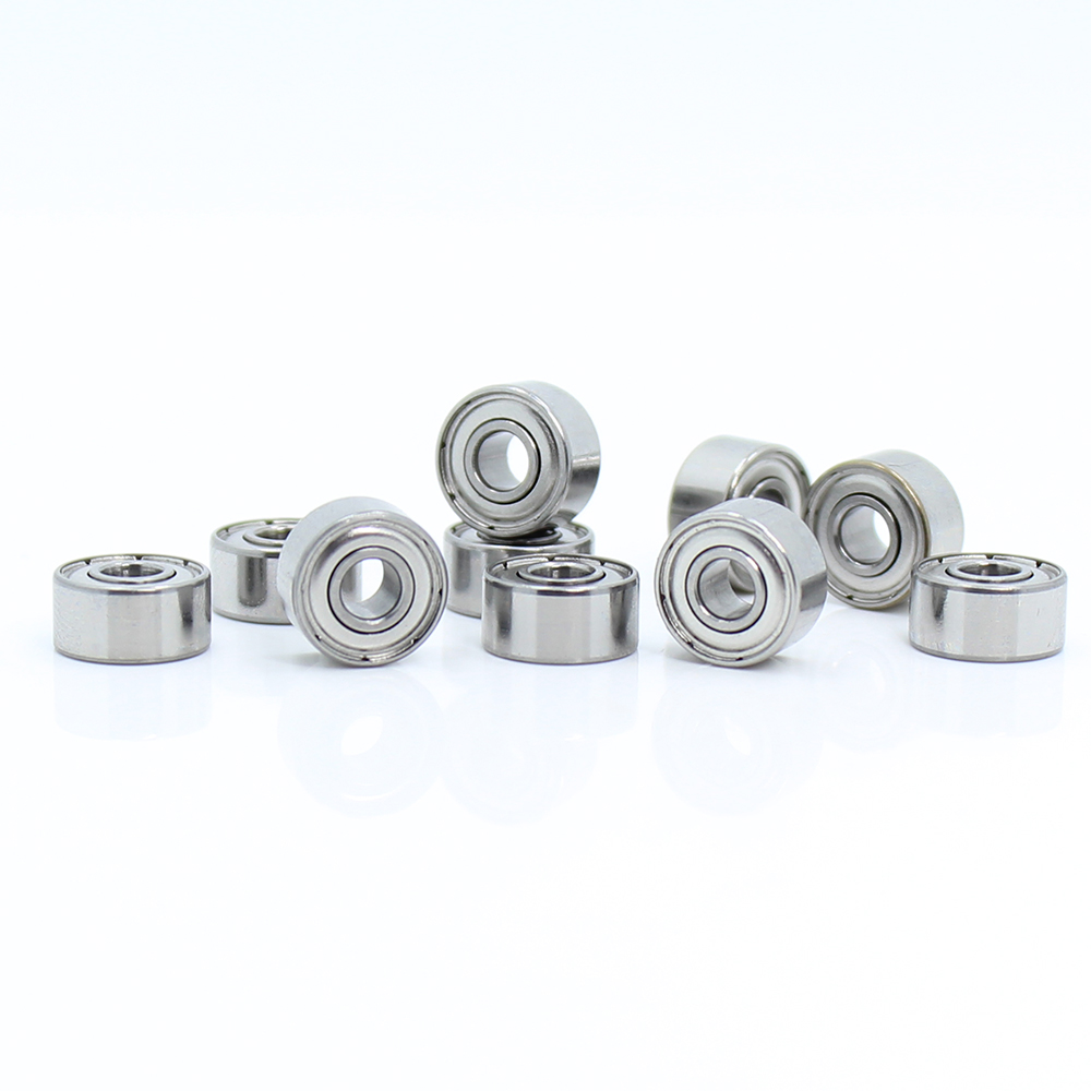 10pcs 693ZZ Miniature Ball Bearings 3*8*4mm Small Double Shielded Bearing ca