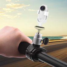Acessórios da câmera para insta 360 ir ação esportes câmera mochila adaptador de montagem clipe tripé selfie vara pólo sucção conector