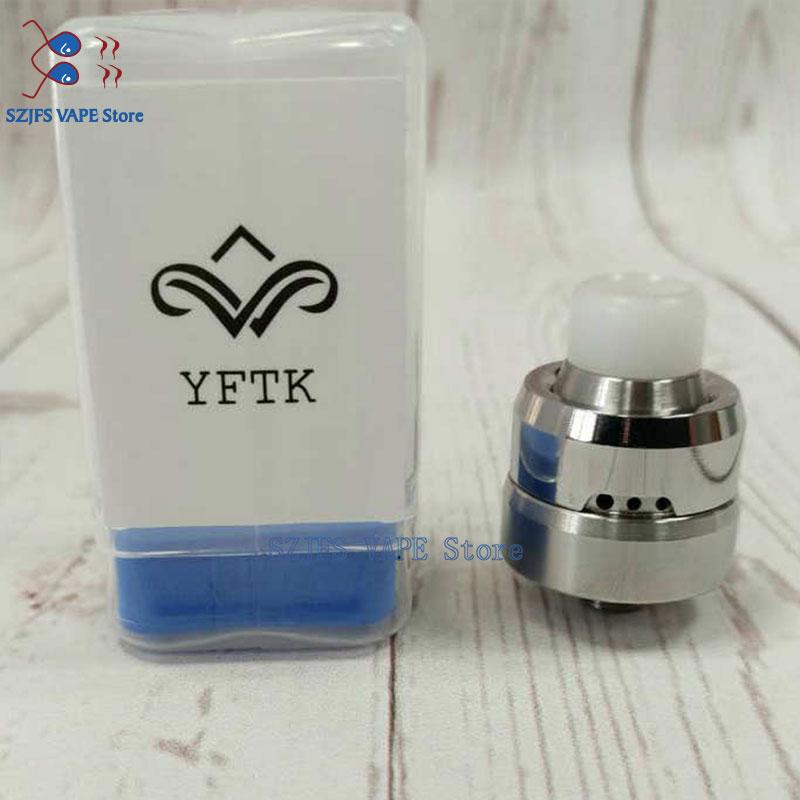 YFTK Auco Rda With 316 Stainless Steel 22mm Diameter Ffor 510 Adjustable Atomizer Vs Speed Revolution Mini Widow Terk V2 Rda
