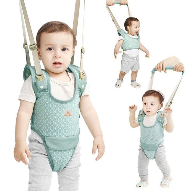 Bebé andador niño Asistente de paseo seguridad funcional Andador de arnés de seguridad para 7-24 meses bebé aprender de pie y caminar Ejercicio seguro cuidado del bebé aprendizaje arnés para caminar mochila Stick Sling Boy Girls ayuda infantil andador asistente alas de cinturón