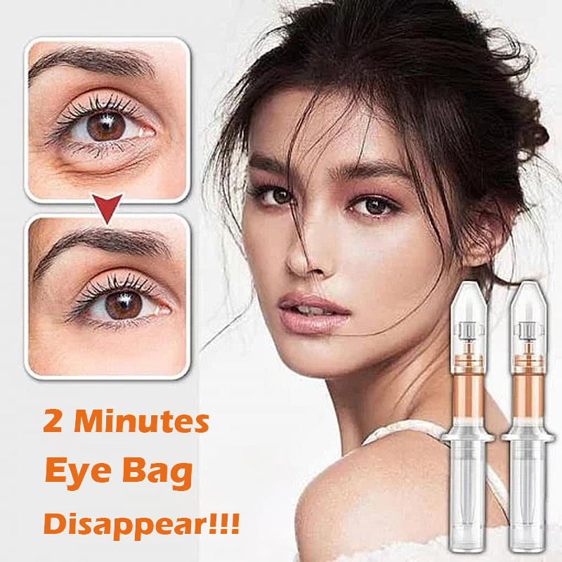 2 Minutes Instant Lifting Liquid Pump Eye Cream Anti Puffiness Wrinkles Effect Long Lasting Remove Eye Bag Fine Lines Cream