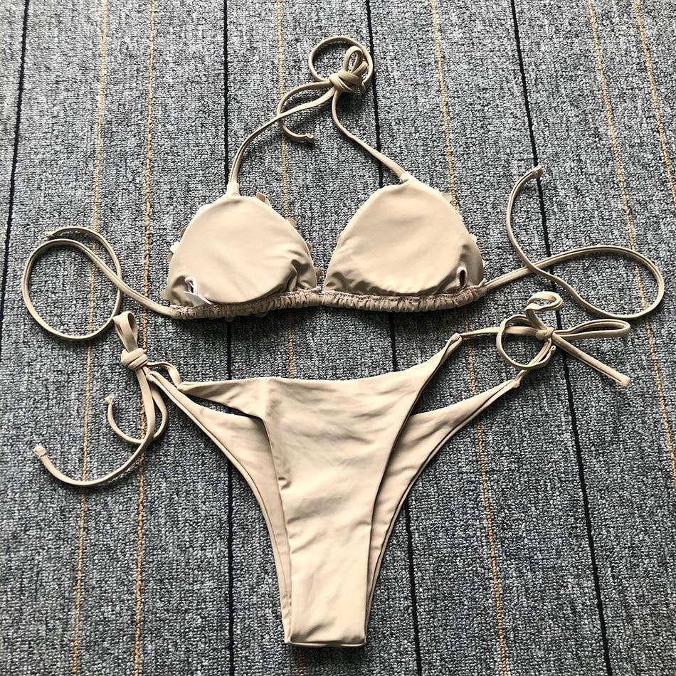Купальник из змеиной кожи с открытой спиной, сексуальное бикини, новинка, женский купальник, комплект бикини с пуш-ап, купальник для женщин