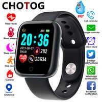 Relógio inteligente homem medição da pressão arterial relógio inteligente eletrônico monitor de freqüência cardíaca smartwatch ip67 à prova dip67 água
