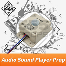 Audio sound player prop Takagism game real llive room escape play sound when detect human play audio music to create atmosphere new escape room prop computer jigsaw puzzle system puzzles pieces jxkj1987 real life room escape adventurer game