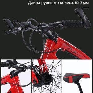"""Image 3 - Wolfs fang bicicleta de montaña para mujer y niño, bici de 7 /21 velocidades, de 2,0 """"X 4,0"""", con freno de disco de bicicleta ancha"""