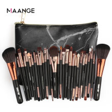 MAANGE Makeup Brushes Set Professional 6-30Pcs Cosmetic Powder Eye Shadow Foundation Blush Blending Make Up Brush Maquiagem Hot