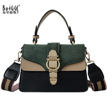 BRIGGS 2019 New Tote Women Leather Handbags Famous Brand Fashion Shoulder Bags Female Luxury Designer Crossbody Bag Bolsas