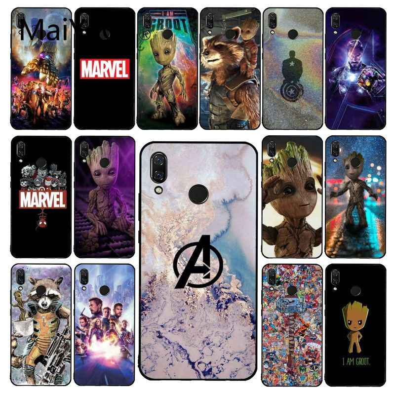 Maiyaca Marvel Avengers Endgame Thanos Ốp Lưng Điện Thoại Xiaomi Redmi4X 6A 9 8A Note 9 Pro 5Plus Note4 Note5 7 Note6Pro 8T