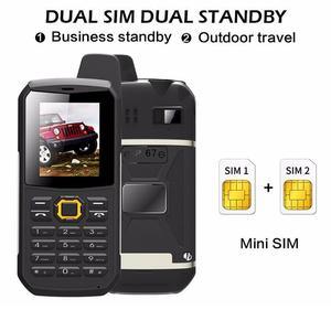 """Image 2 - F68 IP67 Waterdichte Power Bank Mobiele Telefoon 2.2 """"Shockproof Luidspreker Sterke Zaklamp Dual Sim Senior Outdoor Robuuste Telefoon"""