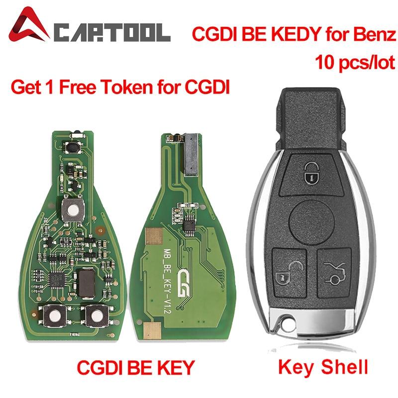 A ++ качество CGDI MB CG BE ключ для всех Benz FBS3 315 МГц/433 м ключевой программатор для Benz и получить 1 бесплатный жетон для CGDI MB