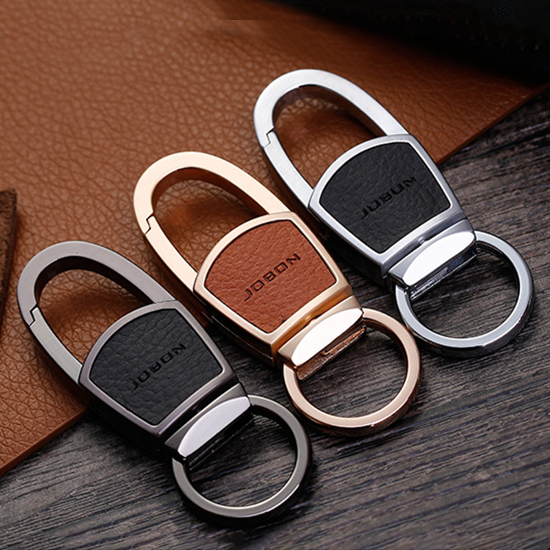 Jobon Fashion Car Keychain Women Men Luxury Keychains Custom Lettering For Key Ring Holder Bag Pendant Best Gift For Jewelry