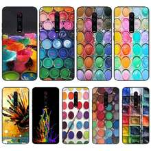 Byloving Aquarellen Set Verf Palet Box Coque Shell Telefoon Case Voor Redmi S2 5A 5 5Plus 6 6Pro 6A 4X 4X 7 7A Cover(China)