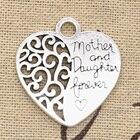 3pcs Charms Heart Mo...