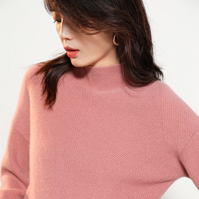 Winter/Autumm 6Colors Sweaters For Woman 100% Pure Cashmere Knitted Jumpers Ladies Top Quality New Fashion Thick Pullovers