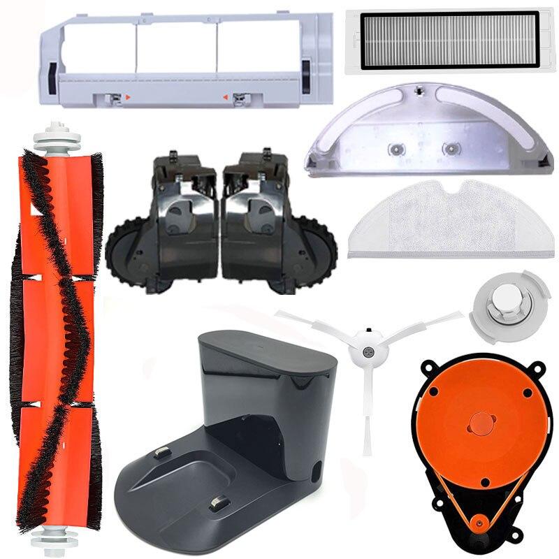 Roborock Vacuum Cleanner Parts Suitable For Roborock 2 S50 Cleaning Robot Spare Parts Mop Cloth Charging Pile Black