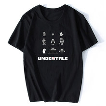 2020 New Undertale Sans Pattern Unisex Tshirt Printing Fashion Men Game T-shirt Harajuku Tops Camisetas Hombre(China)