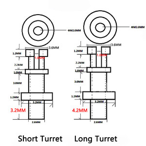 Image 5 - DIY Turret lug Project Audio Strip Tag Board Turret Board Terminal Lug For Tube Amplifier DIY Copper Plated Tin Slotted Turret