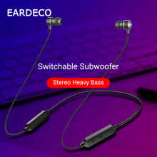 EARDECO Magnetic Hifi Bluetooth Earphone Sport Running Wireless Headphones Headset Waterproof Mic Bluetooth Earbuds for Phone original sabbat wireless earbuds 5 0 bluetooth earphone sport hifi headset handsfree waterproof ear buds for samsung phone