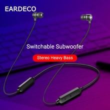 EARDECO Magnetic Hifi Bluetooth Earphone Sport Running Wireless Headphones Headset Waterproof Mic Earbuds for Phone