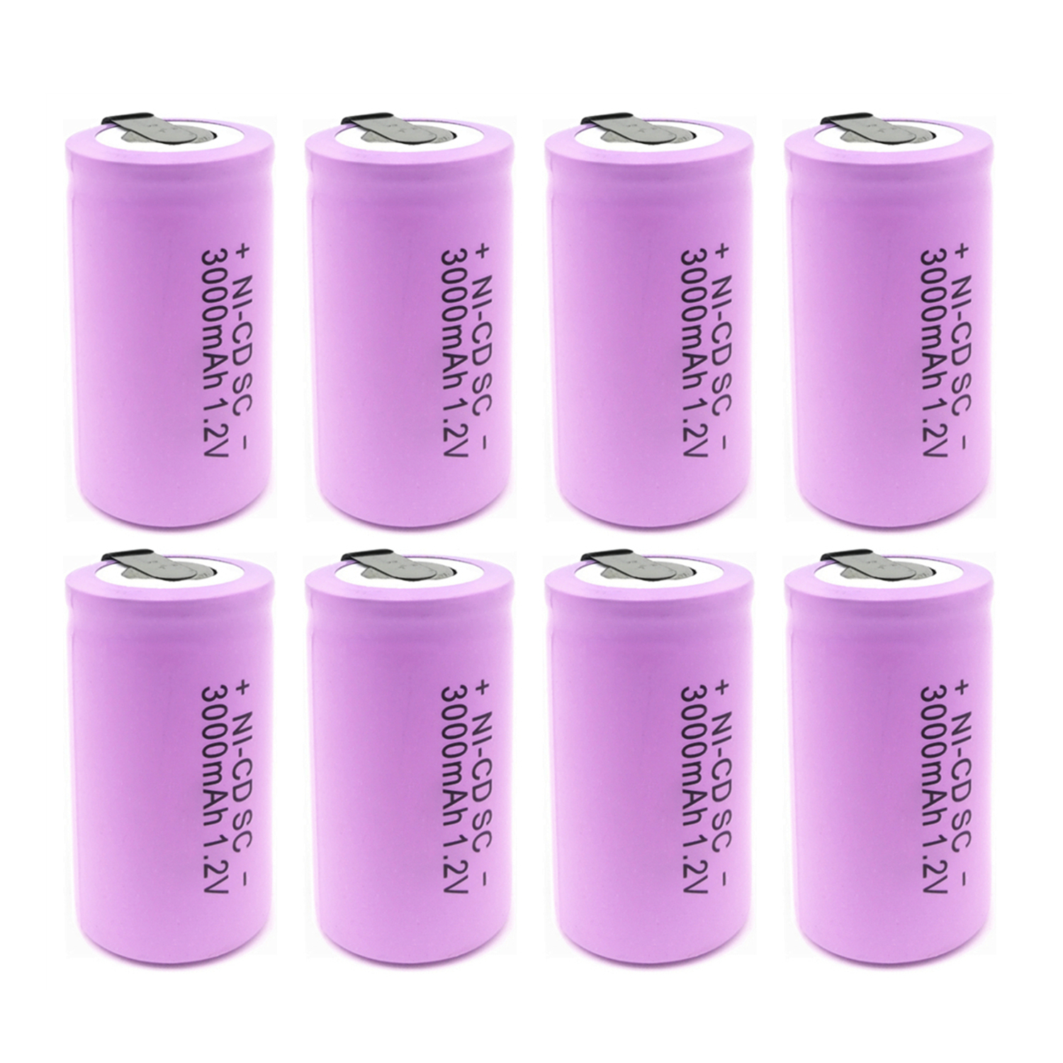 High quality battery rechargeable battery sub battery SC <font><b>Ni</b></font>-<font><b>Cd</b></font> battery <font><b>1.2</b></font> <font><b>v</b></font> with tab 3000 mAh for Electric tool image