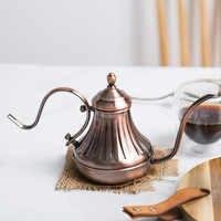 Royal Fine bouche col de cygne cafetière bec Long verser sur goutte à goutte café bouilloire Bronze 304 acier inoxydable bricolage cafetière théière