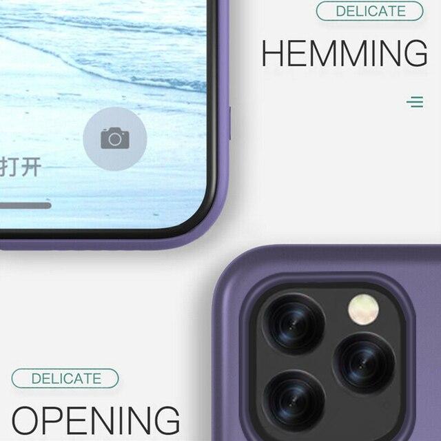 YISHANGOU Caso Per il iPhone di Apple 11 Pro Max SE 2 2020 6 S 7 8 Più di X XS MAX XR carino Colore Della Caramella Coppie Molle Silione Della Copertura Posteriore 5