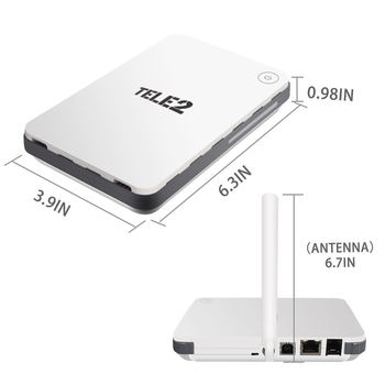 Original Unlocked Huawei B260a 3G WIFI WLAN PORTS 900/2100Mhz VoIP LAN/WLAN 3G UMTS HSDPA WiFi Router PK B970 B683 B683