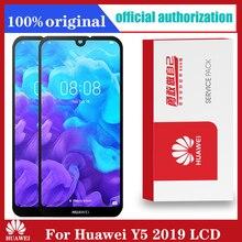 5.71 Originele Lcd Met Frame Vervanging Voor Huawei Y5 2019 Display Touch Screen Digitizer Vergadering AMN LX9 LX1 LX2 LX3