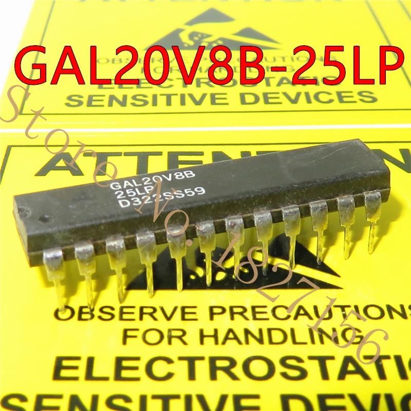 5pcs GAL20V8B-25LP GAL20V8B GAL20V8 DIP-24 GAL20V8B-25 DIP