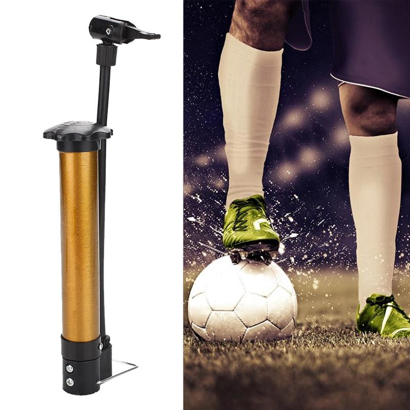 Mountain Bike Steel Pipe Tyre Pump Bike Pump Gold Portable Cycling Accessories Inflator Practical Balloon Tool Travel