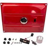 Universal 7 Gallon Universal Secondary Gas Fuel Tank Generator Filter Gas Gauge Cap 26.5L