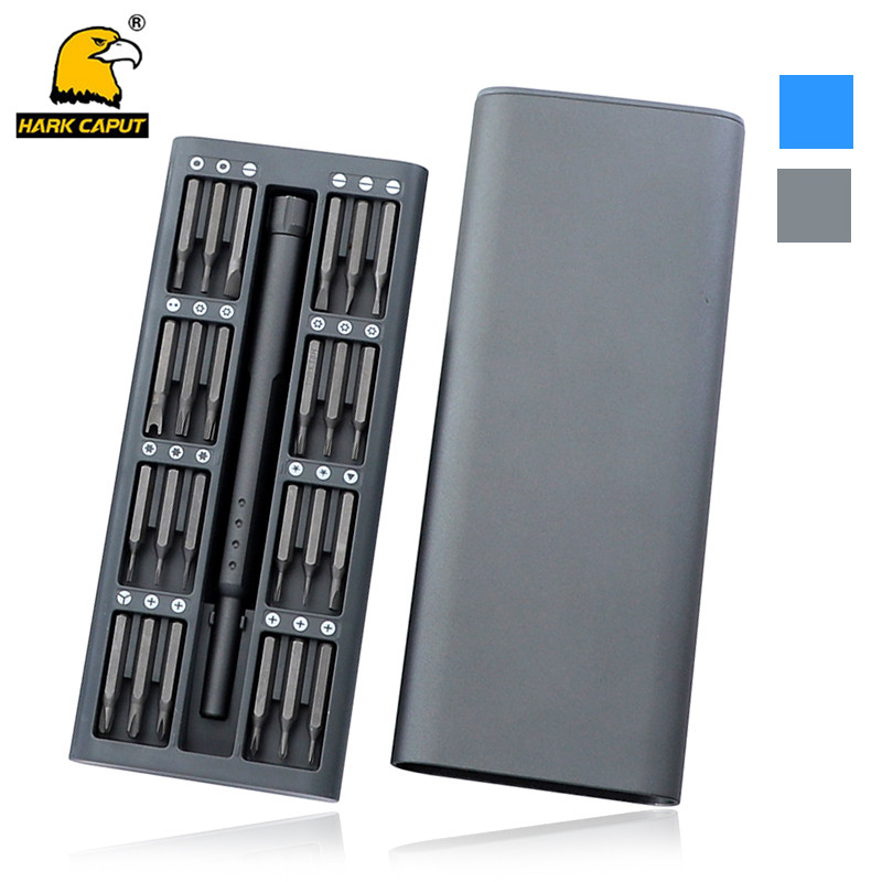 25pcs/set Precision Screwdriver S2 Steel Torx Phillips Screwdriver For Phones With Mag Bit Extension Multi Screwdriver Bit Set