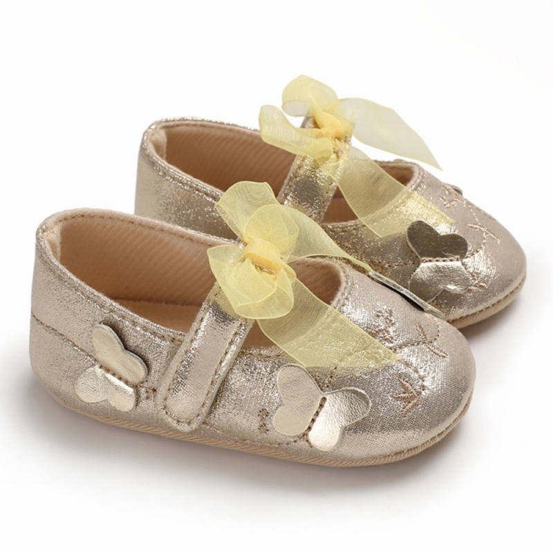Sneakers Shoes Flower Toddler Newborn Baby-Girl Infant Little-Girls Princess Cotton Bow