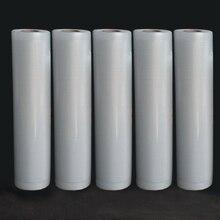 Вакуумные Упаковочные пакеты для пищевых вакуумных упаковок для хранения сумки 12/15/20/25/28 см* 500 см для вакуумная упаковка 5 рулонов/лот