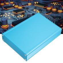 Aluminum Box Integrated Enclosure Electronic DIY Aluminum Box Project Aluminum Cooling Case for Circuit Board 22x80x110mm black electronic project case aluminum circuit board enclosure box 150x105x55mm with screws