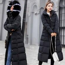 3xl; Новая осенне зимняя женская куртка парка на молнии с капюшоном