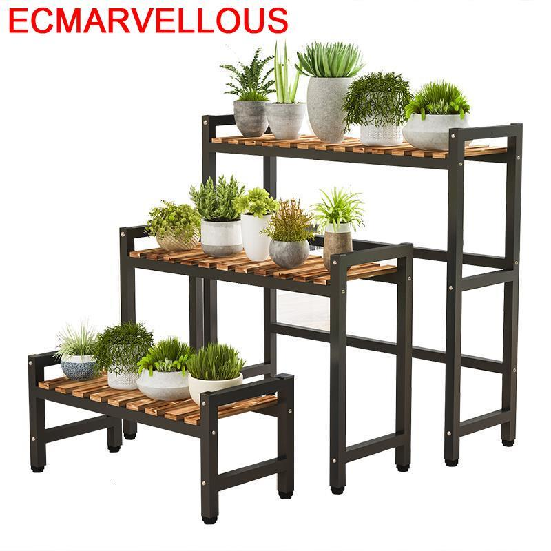 For Indoor Pot Shelf Plantenstandaard Estanteria Para Plantas Rack Outdoor Flower Dekoration Stojak Na Kwiaty Plant Stand