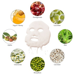 Image 4 - 32Pcs DIY פנים פירות ירקות יצרנית אוטומטי מסכת מכונת להשתמש תוססות קולגן טבליות אנטי הזדקנות קמטים לחות