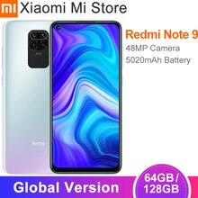Versão global xiaomi redmi nota 9 3gb ram 64gb rom smartphone mtk helio g85 octa núcleo 48mp quad câmera traseira 5020mah celular