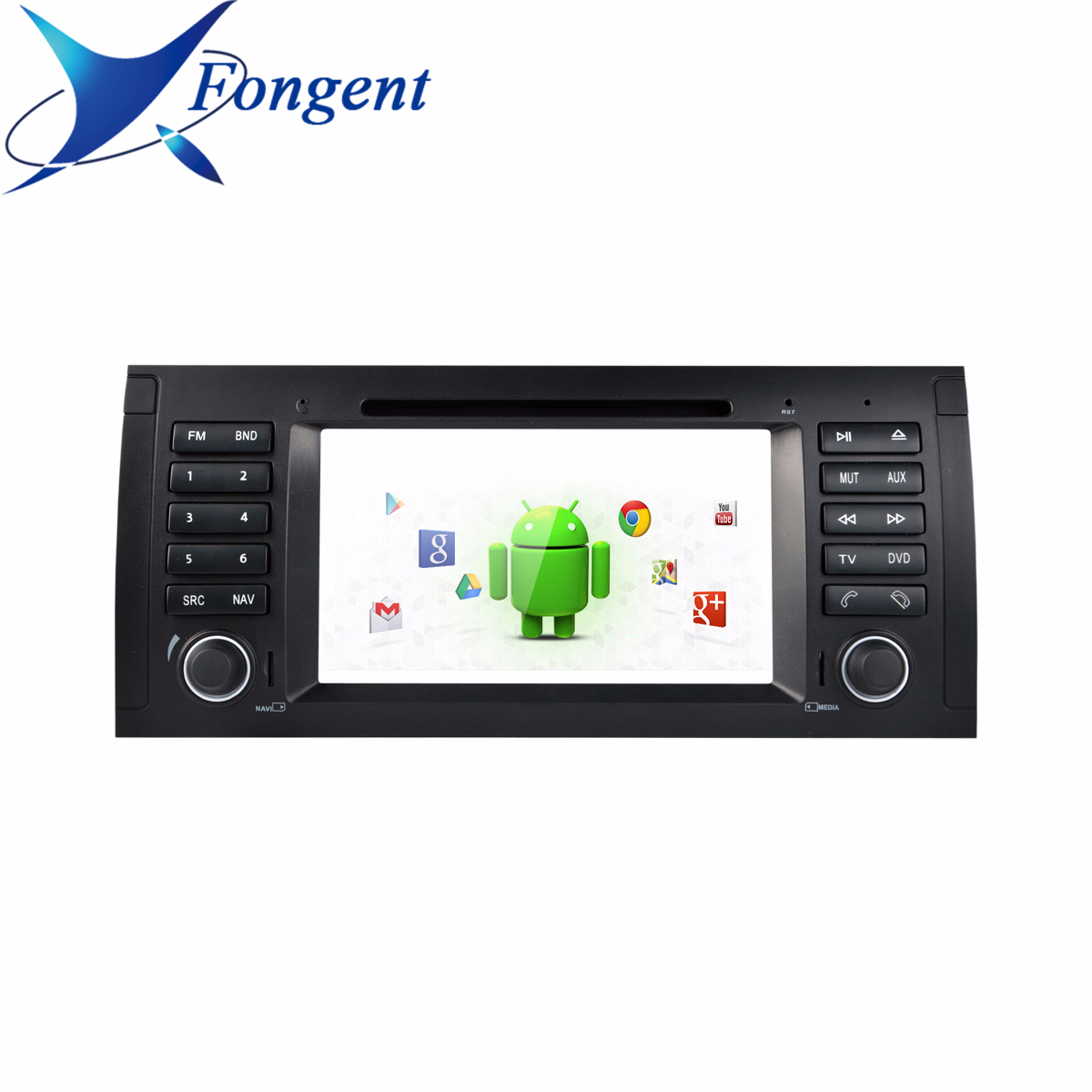 For Bmw X5 E53 E39 E38 M5 5 7 Series Multimedia Radio Gps Navigator Stereo Android Rk339 Px6 Car 1din Dvd Player Carplay Dsp image