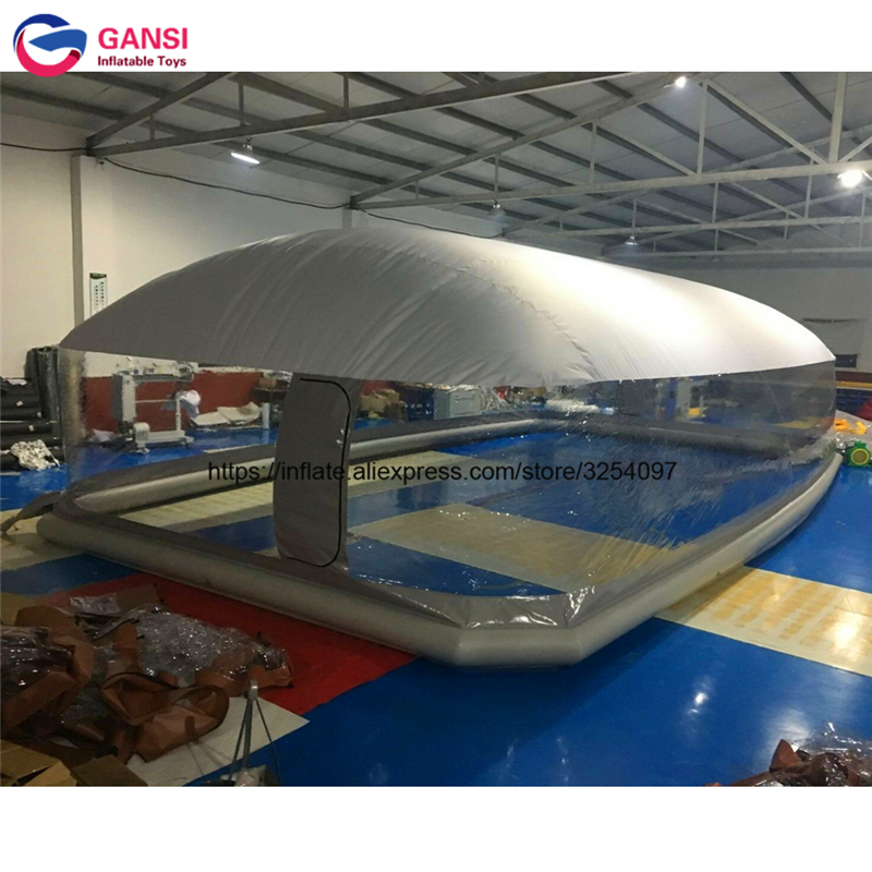 inflatable pool dome19