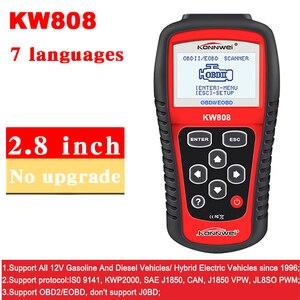 Image 2 - KONNWEI – KW808 Scanner de voiture dorigine, outil de Diagnostic automobile, prise en charge du moteur J1850, lecteur de Code Fualt, dfd