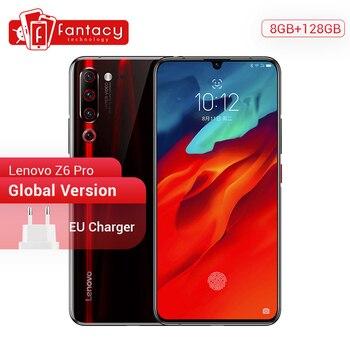 Перейти на Алиэкспресс и купить Глобальная версия Lenovo Z6 Pro смартфон с восьмиядерным процессором Snapdragon 855, ОЗУ 8 Гб, ПЗУ 128 ГБ, 6,39 дюймов, 1080P