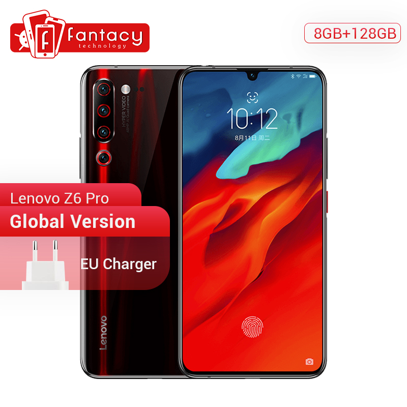 Global Version Lenovo Z6 Pro 8GB 128GB Snapdragon 855 Octa Core 6.39