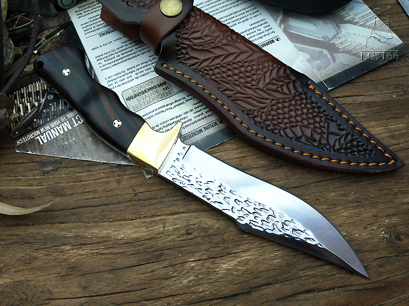 Knives Mes Sharp Made Rescue Tactische LCM66 Hand Jacht Rechte KnifeFixed MessenPrecious Forge HandleCamping Gereedschap Mes