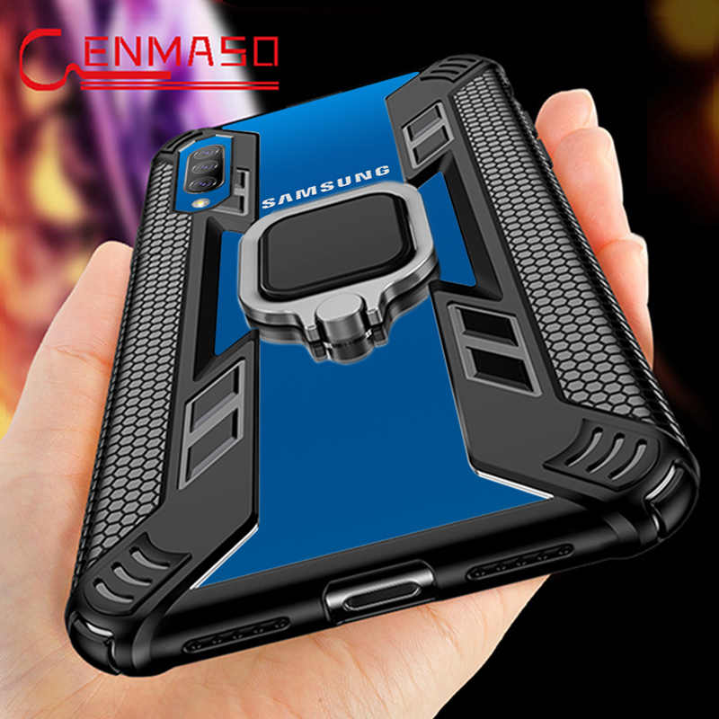 For Samsung A50 Case for Galaxy S20 Plus Ultra S11 A50 A7 A9 2018 S10 Note 10 Plus A30 A50S M30 M20 M10 Magnetic Car Holder Case