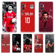 Фото - football soccer athlete Mohamed Salah shell Transparent Phone Case For XIAOMI mi 3 4 5 5X 8 9 10 se max  pro a2 9T  note lite ahmed mohamed salah gestión administrativa del proceso comercial adgd0308